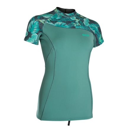 Neo Top Women 1.5 SS sea green ION 2019