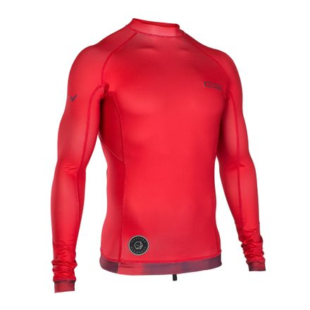 Rashguard Men LS red ION 2019