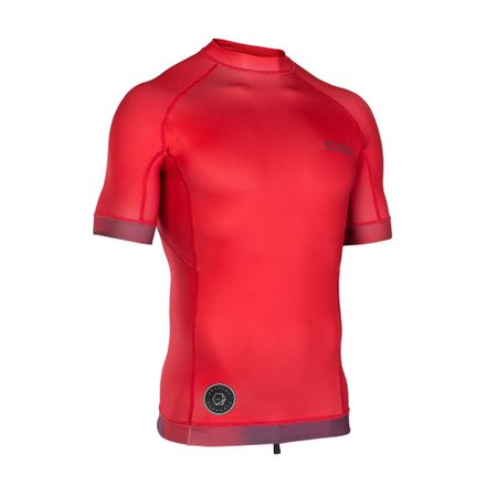 Rashguard Men SS red ION 2019