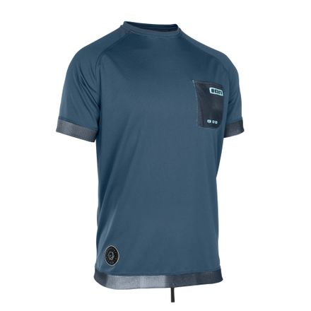 Wetshirt Men SS dust blue ION 2019