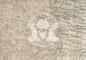 Nubukleder weiß-grau - Sioux Elefant (1,1 - 1,3 mm)
