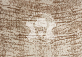 Nubukleder dunkelbraun - Sioux Kastanie (1,1 - 1,3 mm)