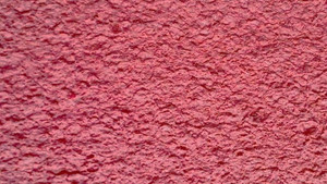 Baumwollputz rot kardinalrotlight - Struktur mittel - Wolcolor®
