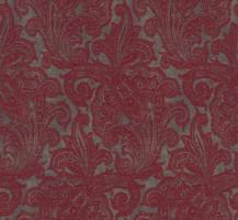 Möbelstoff SWING 206 Muster Ornamente rot