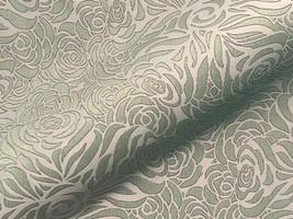 Möbelstoff CHELSEA FR 607 Muster Ornamente grün