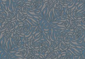 Möbelstoff CHELSEA FR 614 Muster Ornamente blau