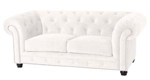 Sofa 2-Sitzer Chesterfield »Orleans« Samtvelours Farbe Creme