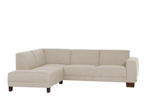 Ecksofa links mit Sofa 2,5-Sitzer »Blackpool« Flachgewebe Farbe Creme