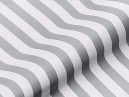 Dekostoff BRADFORD 42234150500 Streifen grau weiß