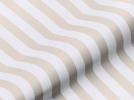 Dekostoff BRADFORD 42234150800 Streifen beige weiß