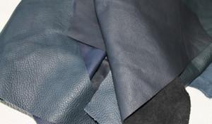 Bastelleder blau - 6 kg Lederreste zum Basteln