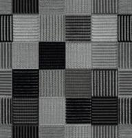 Möbelstoff GALLERY 62641140900 Karomuster anthrazit-schwarz
