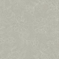 Möbelstoff HAMPTON 62661150800 Blumenmuster grau