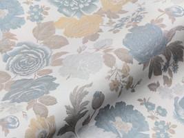 Möbelstoff CLASSIC LIVING 62363140300 Blumenmuster blau