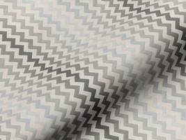 Dekostoff MARRAKESCH blickdicht 42118300500 Muster zick-zack grau