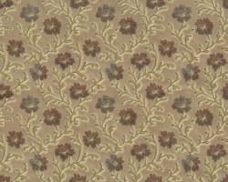 Möbelstoff Lauenstein 818 Blumenmuster braun
