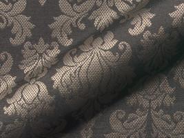 Möbelstoff JAKARTA FR 955 Muster Ornamente schwarz