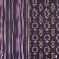 Dekostoff Vorhangstoff schwer entflammbar DIMOUT Muster Abstrakt lila