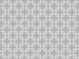 Vorhangstoff Jacquard MATRIX 2547/61 Muster Geometrie grau