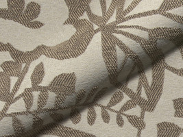Möbelstoff CUSCO 207 Muster floral braun