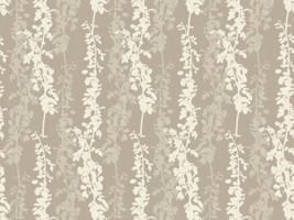 Dekostoff Vorhangstoff Jacquard LA VITA 2523/21 Muster floral beige