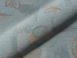 Möbelstoff Sandia 302 gemustert blau