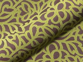 Möbelstoff Miami FR 752 ornament gemustert grau grün