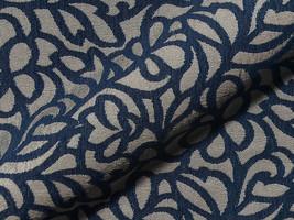 Möbelstoff Miami FR 755 ornament gemustert grau blau