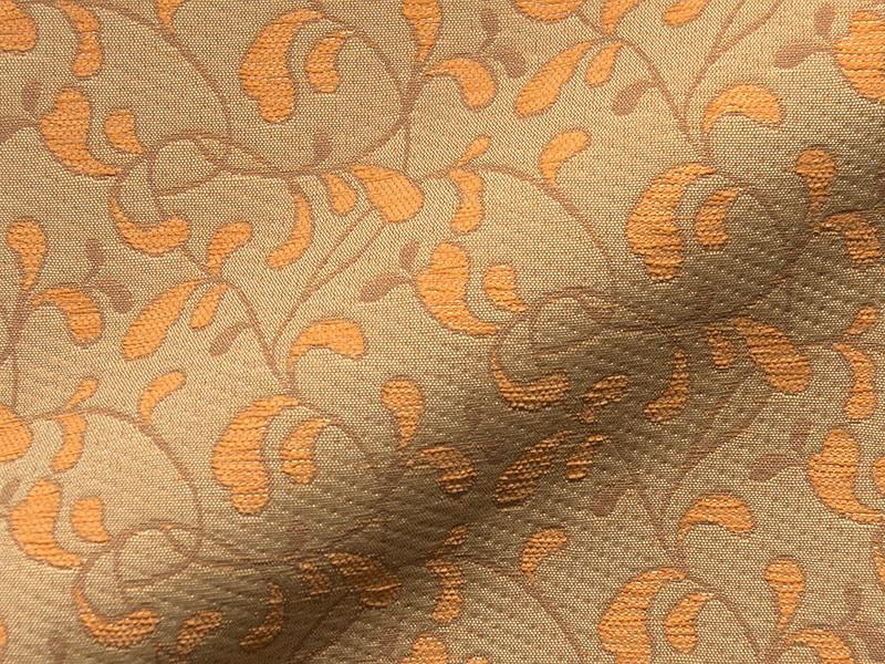 Möbelstoff BERNINA 922 Muster Abstrakt Ornamente orange