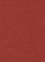 Möbelstoff Linen 518 uni rot