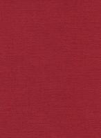 Möbelstoff Linen 519 uni rot