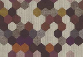Möbelstoff Townsville 116 Geometrie gemustert grau-lila
