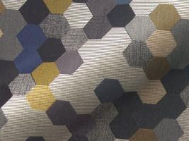Möbelstoff Townsville 117 Geometrie gemustert grau
