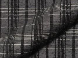 Möbelstoff KALMAR 536 Karomuster schwarz