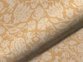 Möbelstoff STAFFELSEE 195 Blumenmuster gelb