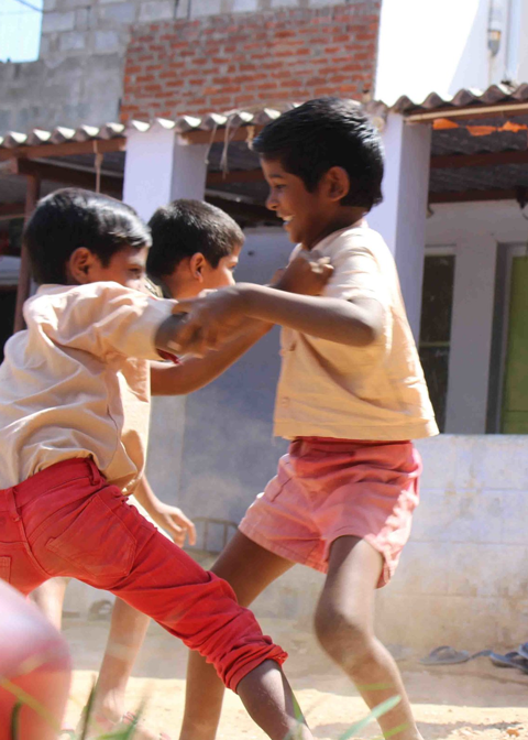 Aktiv gegen Kinderarbeit