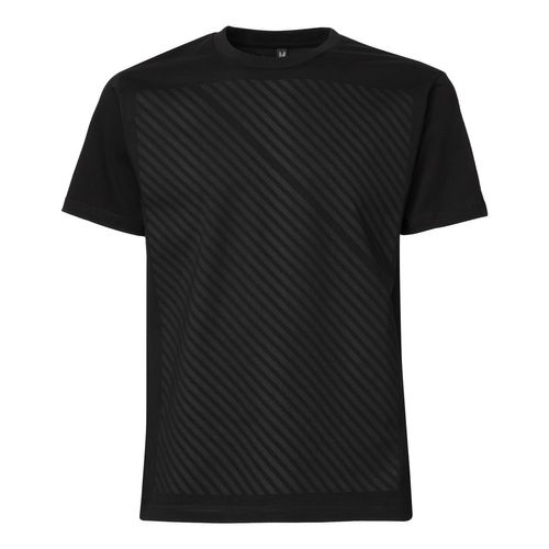 ThokkThokk Striped Man T-Shirt black/black made of 100% organic cotton // GOTS and Fairtrade certified