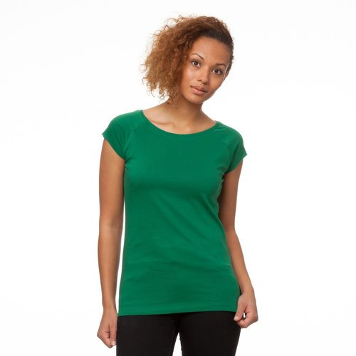 ThokkThokk TT01 Cap Sleeve Verdant Green made of 100% organic cotton // GOTS and Fairtrade certified