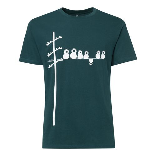FellHerz Make some noise T-Shirt deep teal made of 100% organic cotton // Organic and Fair