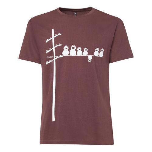 FellHerz Make some noise T-Shirt chocolate