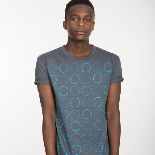 ThokkThokk Twin Polka T-Shirt castlerock aus 100% Biobaumwolle // GOTS und Fairtrade zertifiziert