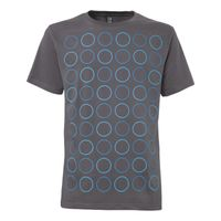 Twin Polka T-Shirt castlerock GOTS & Fairtrade