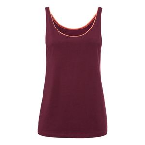 ThokkThokk TT23 Tank Top Woman Bordeaux