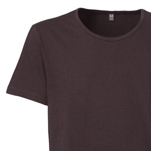 ThokkThokk Herren T-Shirt Dunkelbraun Bio Fair