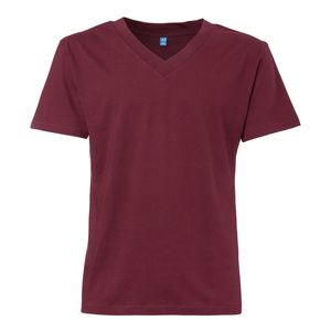 ThokkThokk TT18 V-Neck T-Shirt Bordeaux