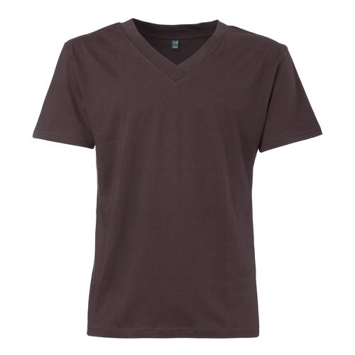 ThokkThokk TT18 V-Neck T-Shirt Dark Brown