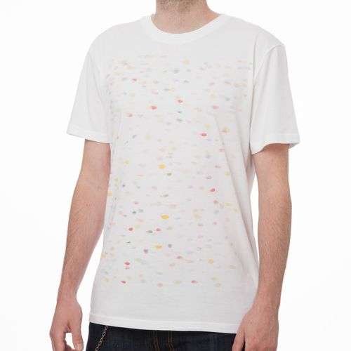 ThokkThokk Cobbles T-Shirt white made of 100% organic cotton // GOTS and Fairtrade certified