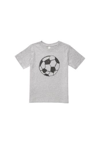 ThokkThokk Kids T-shirt Fußball Grey Organic Fair