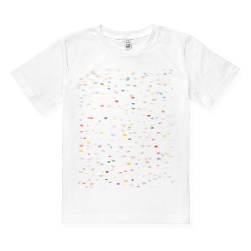 ThokkThokk Cobbles Kinder T-Shirt white made of organic cotton // Organic and Fair