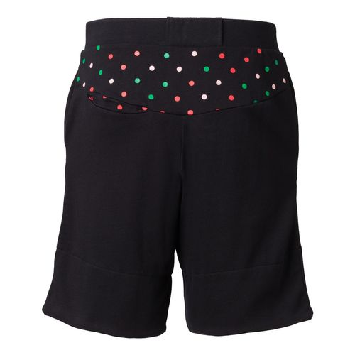 ThokkThokk Dotties TT1011 Bermuda Unisex Black Fairtrade GOTS
